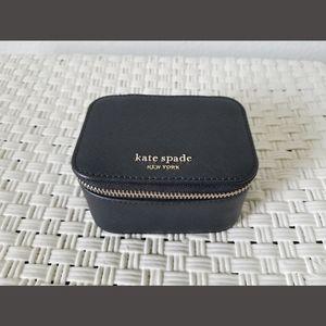 Kate Spade Cameron Black Zip Travel Jewelry Case